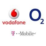 Logo Vodafone O2 T-Mobile
