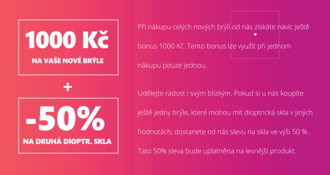 První Optika Praha - slevy pro dárce krve